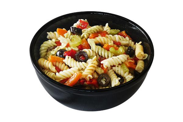 Tri-Colour Fusilli Salad