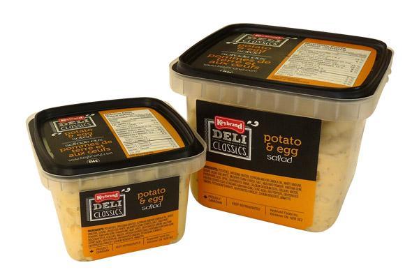 Keybrand Foods Inc.  Salade aux pommes de terre et aux oeufs