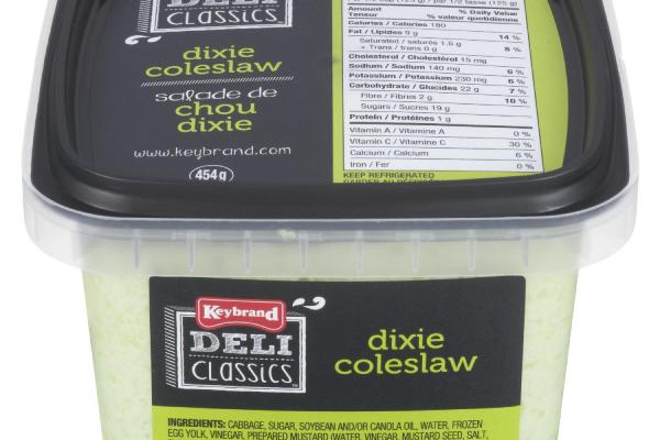 Keybrand Foods Inc.  Dixie Coleslaw